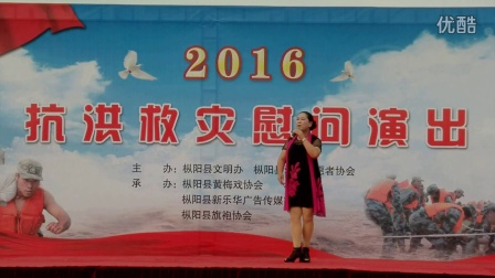 2016抗洪救灾慰问演出节目:《蝶恋花》选段 晚霞临窗