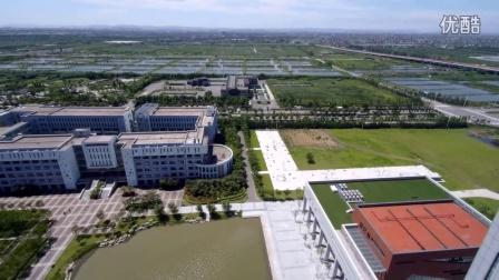 宁波大红鹰学院杭州湾校区航拍