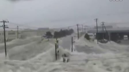 最新实拍 韩国特大洪水来袭 街道房屋受损严重