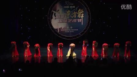 纤魅国际东方舞创始人陈万敏融合