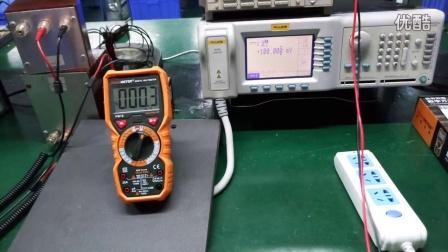 PEAKMETER华谊PM18/PM18C真有效值数字万用表功能实测及使用方法介绍