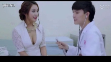 性感美女医院看病被帅气医生摸胸