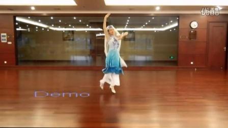 梧桐老师舞蹈 回族舞 回回姑娘 梧桐原创编舞 正面演示