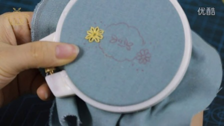 冬小麦欧式刺绣第一期视频团作