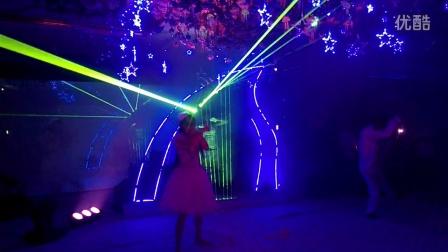 武汉激光竖琴,武汉特色舞台表演,预定电话:13114365784