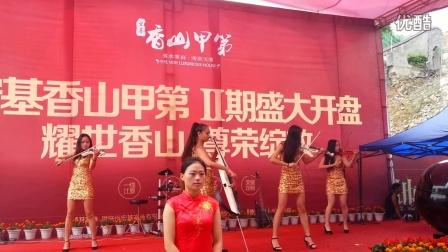 武汉小提琴组合, 武汉特色舞台表演,预定电话:13114365784