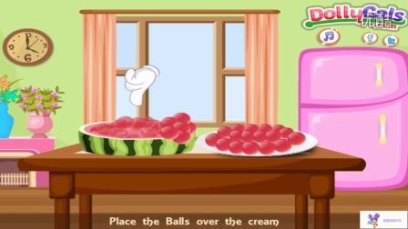 梦色蛋糕师 梦色蛋糕师国语版 西瓜球蛋糕