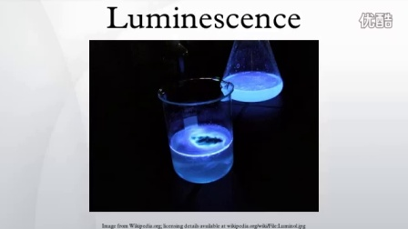 Luminescence 冷发光的完整定义解释