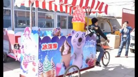 移动冰激凌小吃车,流动冰淇淋车首选国大联创杨森15811366307