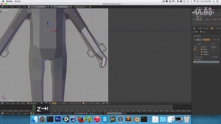 搬运二十分钟学会用blender做lowpoly人物模型-BlenderCharacterCreat