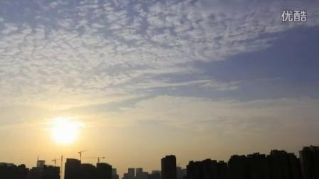 成都日落:延时摄影