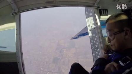 翔大学员跳伞视频分享:周天宝寻求生活的追求