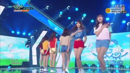 【蓝烟】GFriend - Navillera @ Music Bank (160729现场)