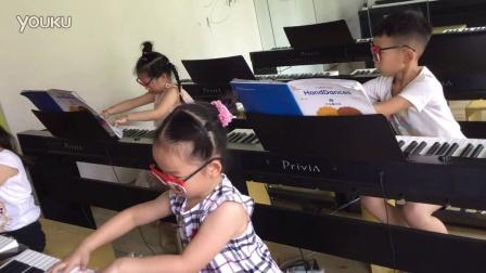 5周岁手之舞钢琴课-义乌美育儿童音乐培训学校