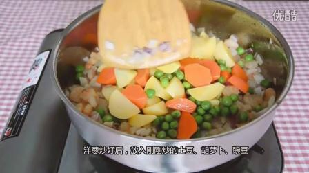 咖喱虾仁饭 无模具丑萌饭团