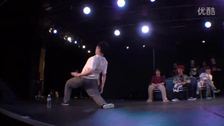 HOZIN vs yu-ki.☆ BEST8 OPEN SIDE - DLOP vol.1 POPPIN' DANCE BATTLE