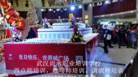 武汉最大的蛋糕,武汉最大的水果蛋糕,武汉西点咖啡鸡尾酒培训18502796781王老师
