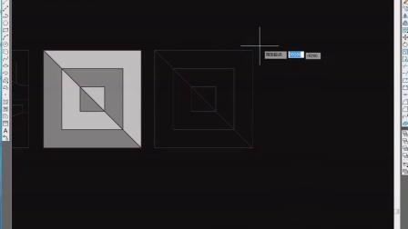 【3D CAD】cad教程 cad制图 cad快捷命令大全 cad图纸 cad制图初学 家装-地面拼花【四十七】 (1)