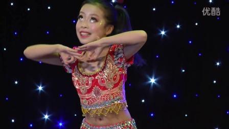 2106年多彩童年才艺大赛少儿印度舞《美丽的大眼睛》表演者:徐可欣