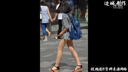 这就是我喜欢夏天的原因,一起来看大白腿啦!街拍