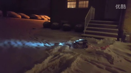 Traxxas Summit with Rc4wd XL blade snow plow