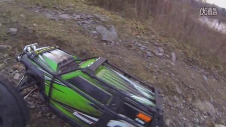 Traxxas Summit Crawling - RC4WD Mudslingers