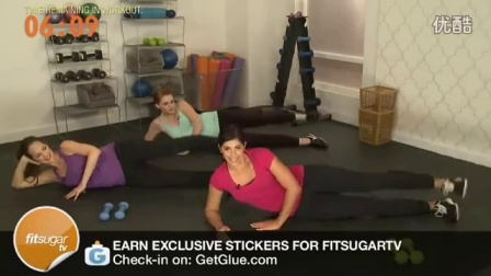 孕妈妈的臀腿专项训练,摩登孕妇健身操