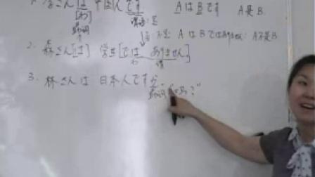 日语学习标准日本语初级上第1课