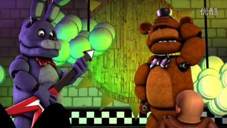 玩具熊的五夜后宫动画  Freddy's Short Temper暴脾气的弗莱迪