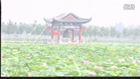 章丘市白云湖2000年风景视频