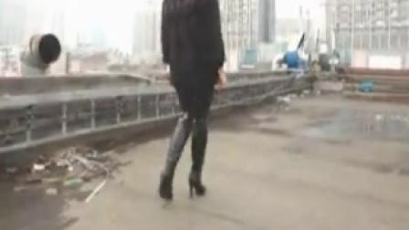 高挑女友长腿性感高跟长靴秀_标清