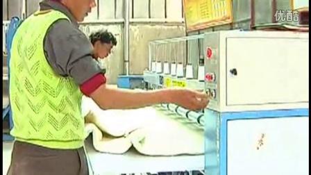 阿里地区措勤县牧民购全套眉山羊毛被加工设备办起了羊毛被加工厂