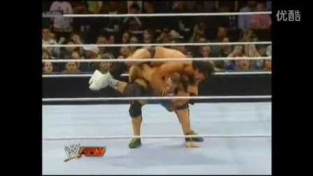 WWE2016年8月7日 巴蒂斯塔vs布洛克