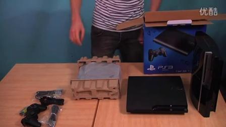 4000型新型超薄PS3Super Slim开箱影像高清