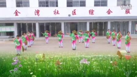 茶香中国  熊口广场舞  2016年定南县广场舞大赛  优胜组织奖   天九老年体协舞蹈队