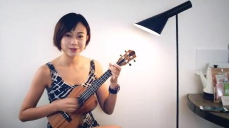 告白气球-周杰伦 尤克里里弹唱 燕子姐姐弹吉他