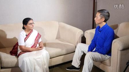 首届亚洲瑜伽理疗大会Nagarathna博士 采访