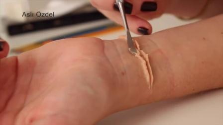 肤蜡做的割腕
