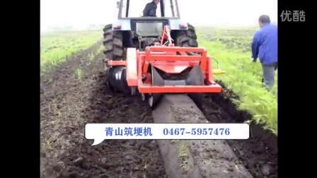 2017筑埂机 宽度自动可调 青山筑埂机
