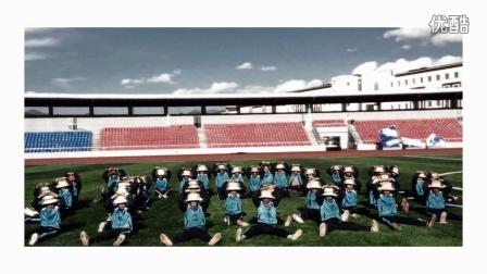 果洛州第五届玛域格萨尔文化旅游节玛沁县第三小学生的瞬间