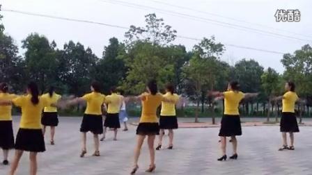 穿心村广场舞溜溜的姑娘像朵花编舞:文雯_标清搞笑精彩