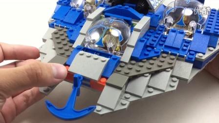 乐高 LEGO 7161 星球大战系列 刚耿潜水艇LEGO Star Wars 1999年款