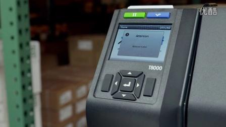 T8000条形码打印机-耗材处理