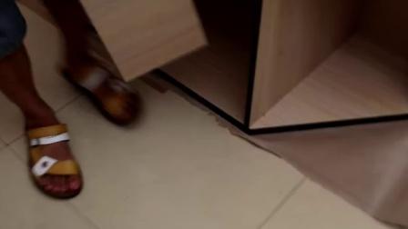 土豪斜顶垃圾柜安装视频大号商场肯德基汉堡快餐店酒店大堂西餐厅麦当劳网吧垃圾桶箱柜