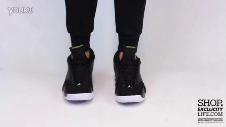 Air Jordan 14 Retro -Indiglo- 上脚欣赏