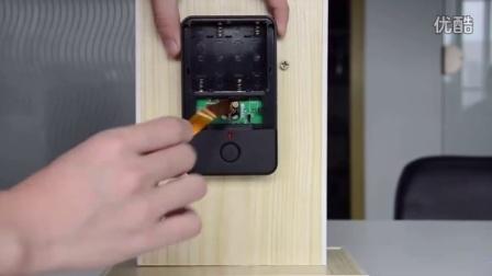 新款干电池猫眼安装视频教程