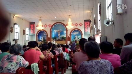 【聖母升天瞻礼弥撒】聖体降福。
