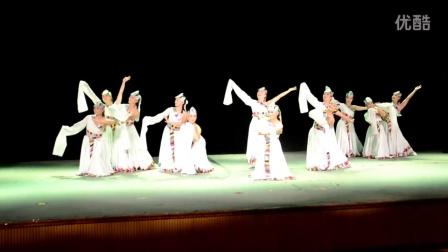藏族舞蹈《幸福家园》指导教师:郭瑞清.录像:LTZ―山东省广场舞大赛青岛市市北区文化馆推荐节目