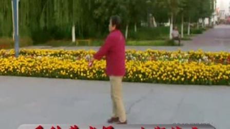 额敏县朱老师钢鞭打法展示.
