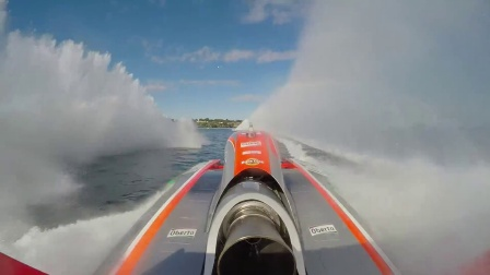 GoPro H1水上飞机赛车